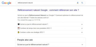 faq referencement Google